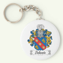 Dalmonte Family Crest Keychain