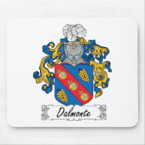 Dalmonte Family Crest Mousepad