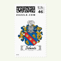 Dalmonte Family Crest Stamps