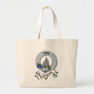 Dalrymple Clan Badge Tote Bag