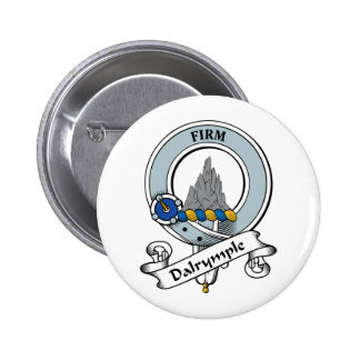 Dalrymple Clan Badge Pinback Button