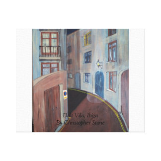 Dalt Vila ,Old town Ibiza Island Gallery Wrapped Canvas