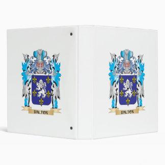 Dalton Coat of Arms - Family Crest Vinyl Binders