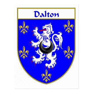 Dalton Coat of Arms/Family Crest Postcard