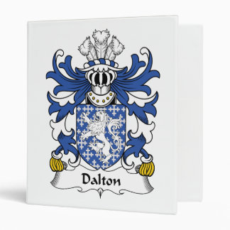 Dalton Family Crest Binders