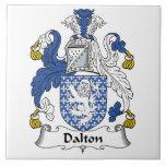 Dalton Family Crest Ceramic Tiles