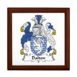 Dalton Family Crest Jewelry Boxes
