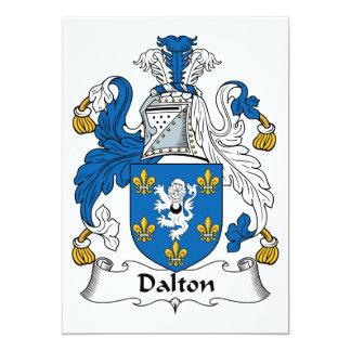 Dalton Family Crest Personalized Invites