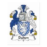 Dalton Family Crest Postcards