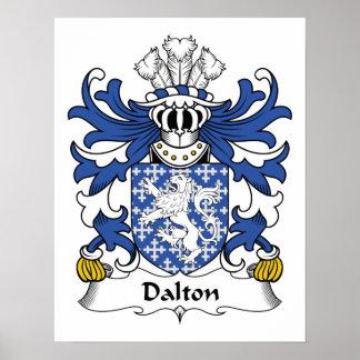 Dalton Family Crest Print