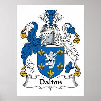 Dalton Family Crest Posters