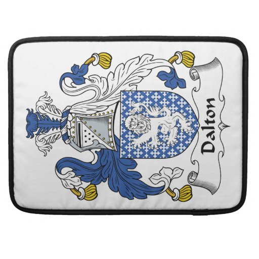 Dalton Family Crest Sleeves For MacBook Pro