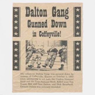 DALTON GANG Fleece Blankets