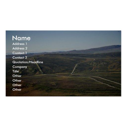 Dalton Highway and Trans-Alaska Pipeline Business Card