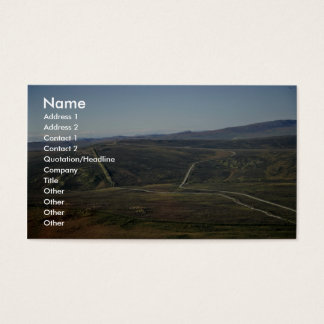 Dalton Highway and Trans-Alaska Pipeline Business Card