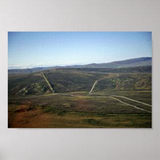 Dalton Highway and Trans-Alaska Pipeline Posters
