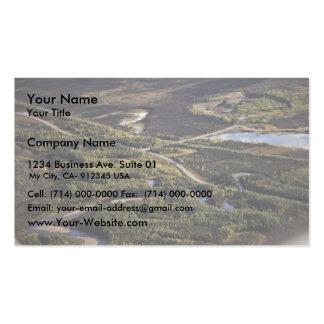 Dalton Highway crossing Bonanza Creek Business Cards