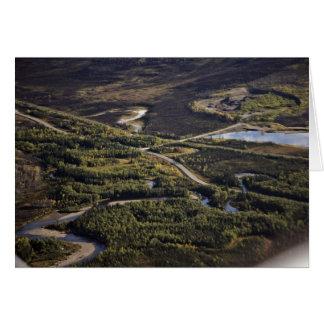 Dalton Highway crossing Bonanza Creek Card