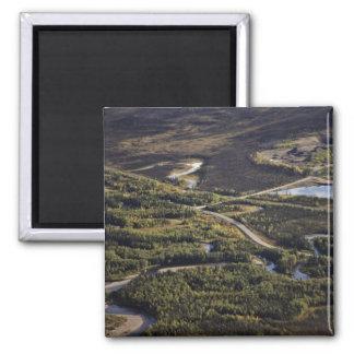 Dalton Highway crossing Bonanza Creek Magnet