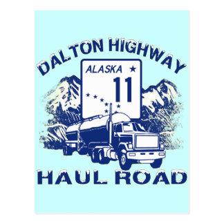 DALTON HIGHWAY HAUL ROAD POSTCARD