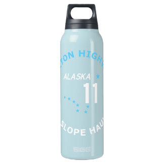 Dalton Highway, North Slope Haul Road Insulated Water Bottle