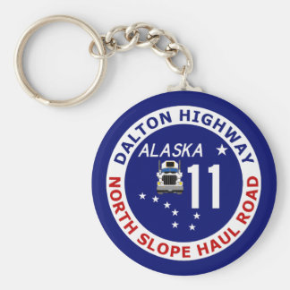 Dalton Highway, North Slope Haul Road Key Chains