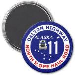 Dalton Highway, North Slope Haul Road Fridge Magnets