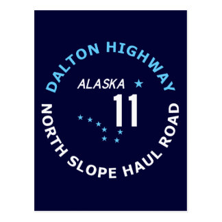 Dalton Highway, North Slope Haul Road Postcard