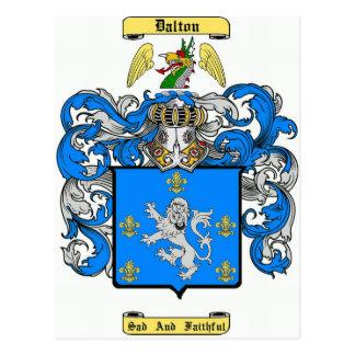 Dalton (irish) postcard