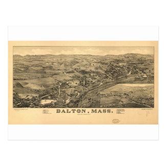 Dalton, Massachusetts in 1884 Postcard