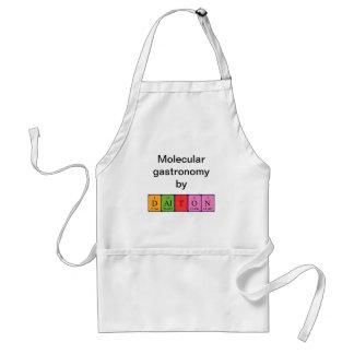Dalton periodic table name apron