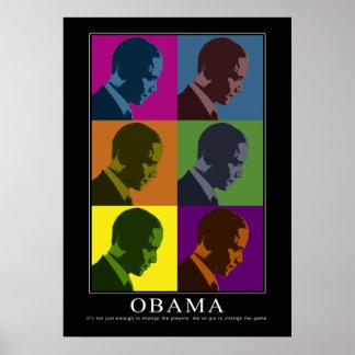 Daltónico Obama Poster