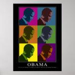 """""""Daltónico"""" Obama Poster"""
