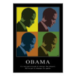 """Daltónico"" Obama Posters"