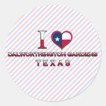 Dalworthington Gardens, Texas Stickers