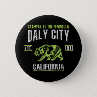Daly City Pinback Button