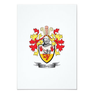 Daly Coat of Arms Card