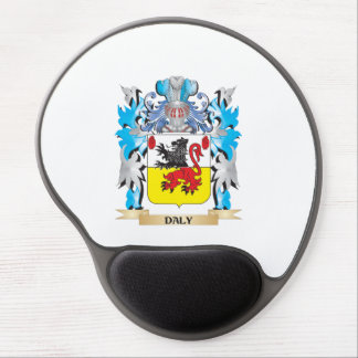 Daly Coat of Arms - Family Crest Gel Mouse Pad