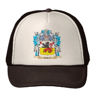 Daly Coat of Arms - Family Crest Trucker Hat