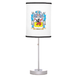 Daly Coat of Arms - Family Crest Desk Lamps