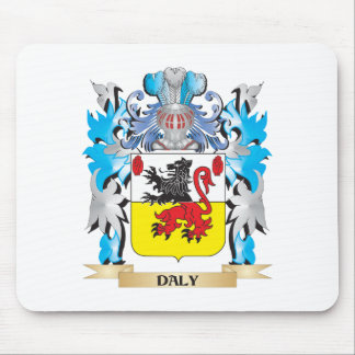 Daly Coat of Arms - Family Crest Mouse Pad