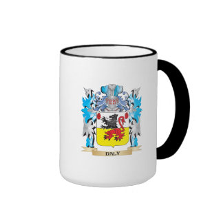Daly Coat of Arms - Family Crest Ringer Coffee Mug