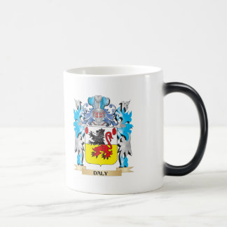 Daly Coat of Arms - Family Crest 11 Oz Magic Heat Color-Changing Coffee Mug