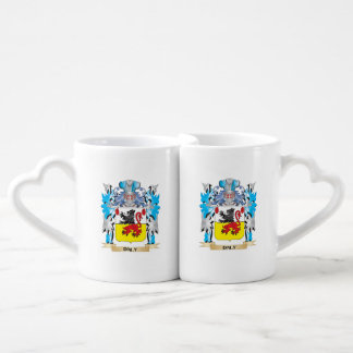 Daly Coat of Arms - Family Crest Couples' Coffee Mug Set