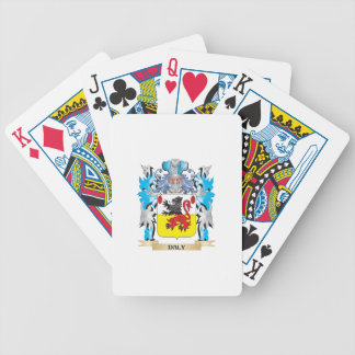 Daly Coat of Arms - Family Crest Bicycle Playing Cards