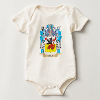 Daly Coat of Arms - Family Crest Baby Bodysuit