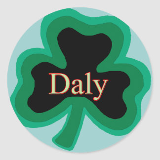 Daly Family Classic Round Sticker