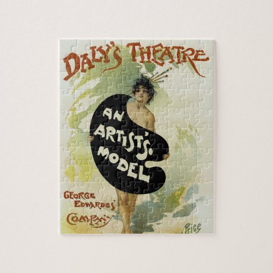 Daly's Theatre ~ An Artist's Model Jigsaw Puzzle