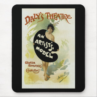 Daly's Theatre ~ An Artist's Model Mouse Pad