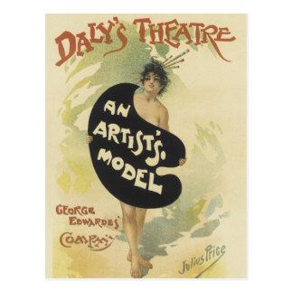 Daly's Theatre Postcard